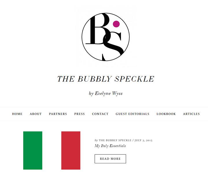 bubble speckle
