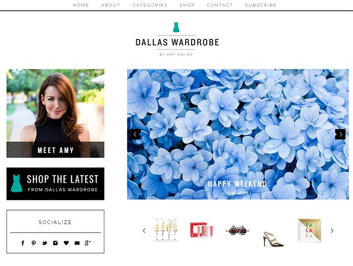 dallas wardrobe blog