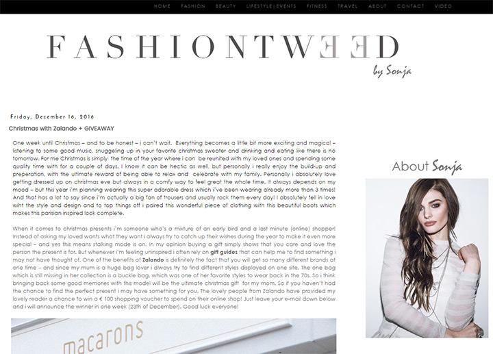 fashion blog tweed