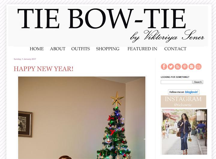 tie bow tie blog