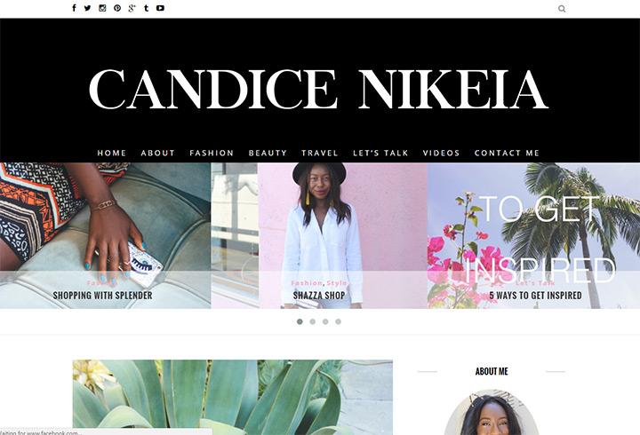 candice Nikeia blog