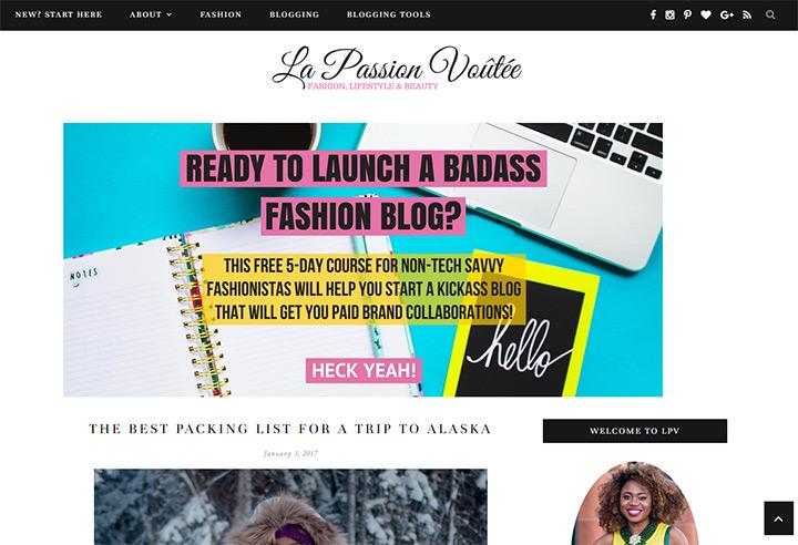 la passion voutee blog