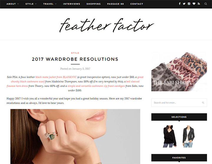 feather factor blog