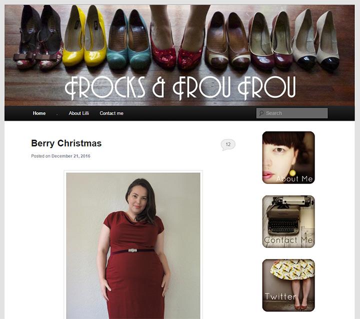 frou frou blog
