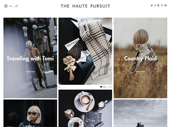 haute pursuit blog