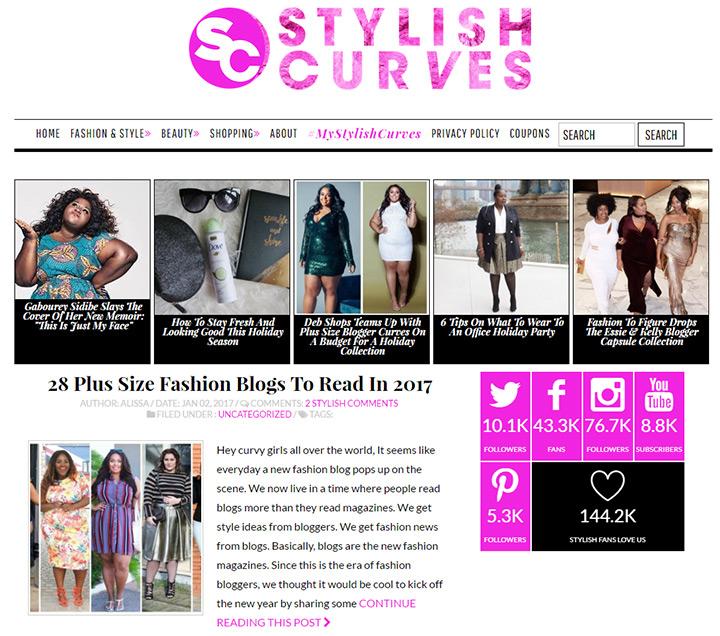 stylish curves blog