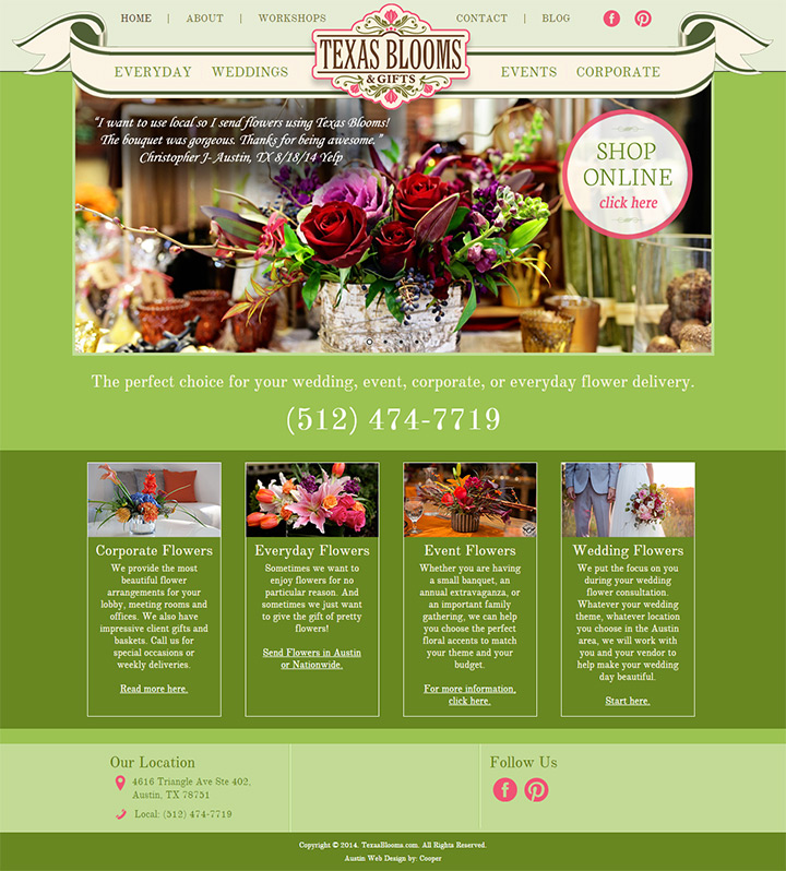 texas blooms gifts