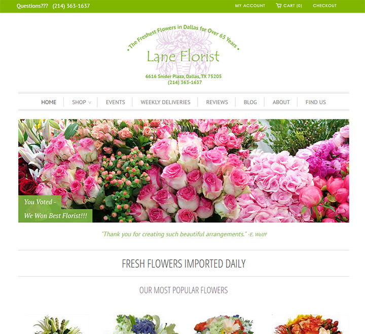 30+ Best Florist Website Designs | title | flowers web