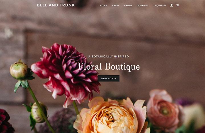 bell trunk flowers