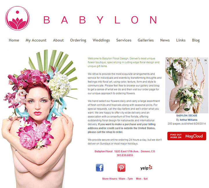 babylon floral