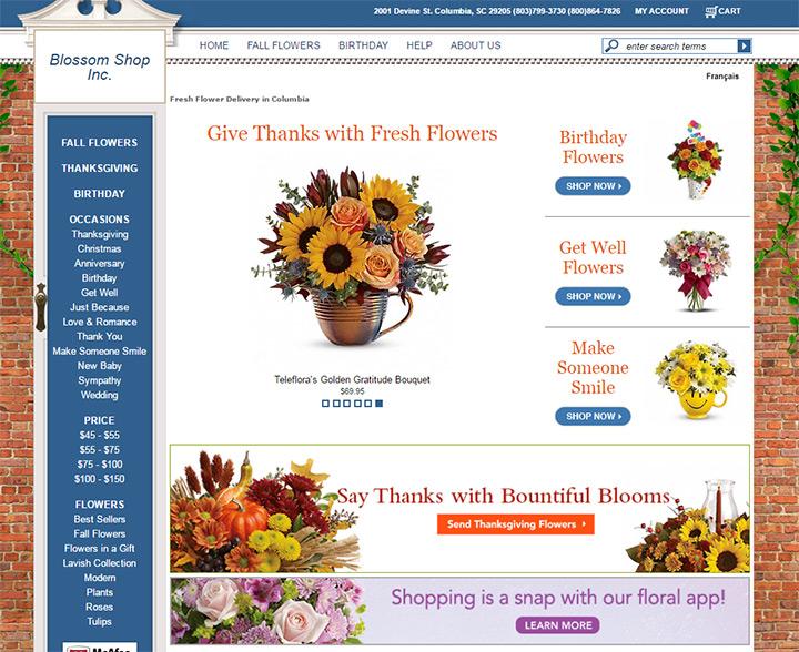 columbia florists