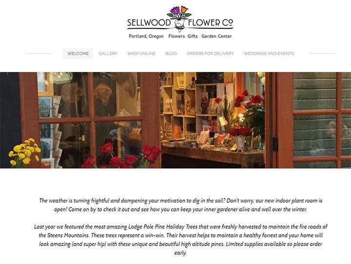sellwood flower co