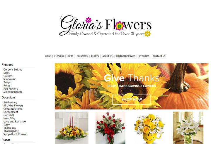 glorias flowers