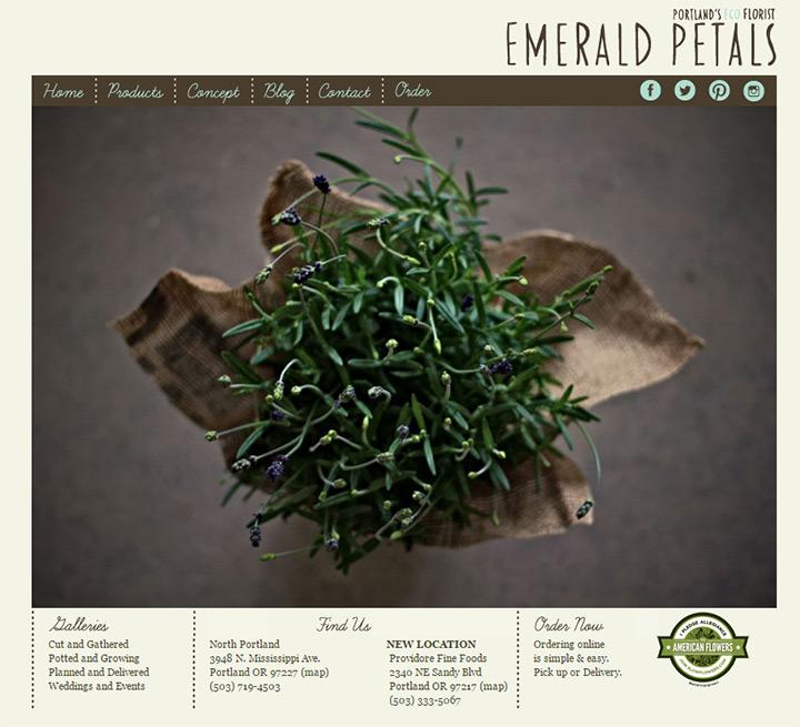 emerald petals