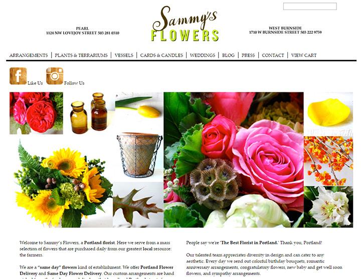 sammys flowers
