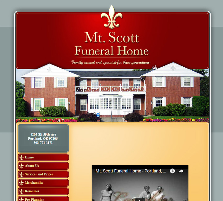 Charmant Mt. Scott. Mt Scott Funeral Home