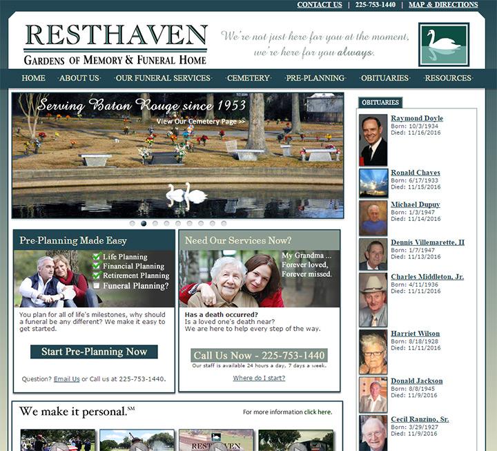 resthaven gardens