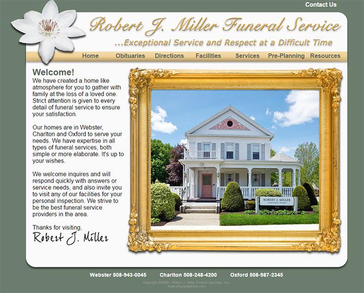 robert miller funerals