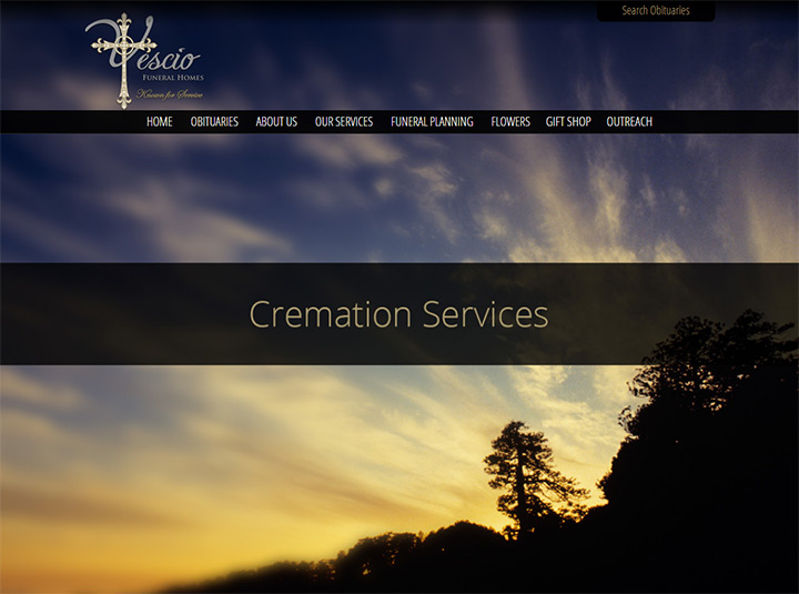yescio funeral homes