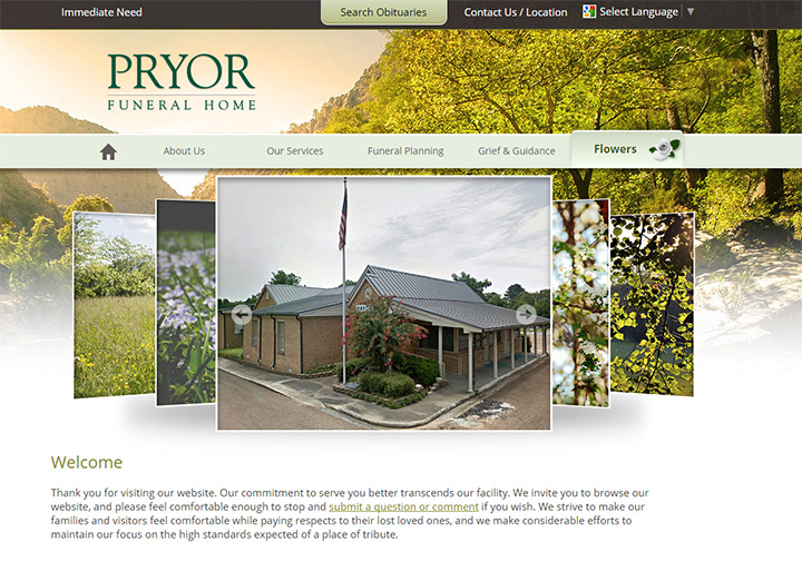 pryor funerals