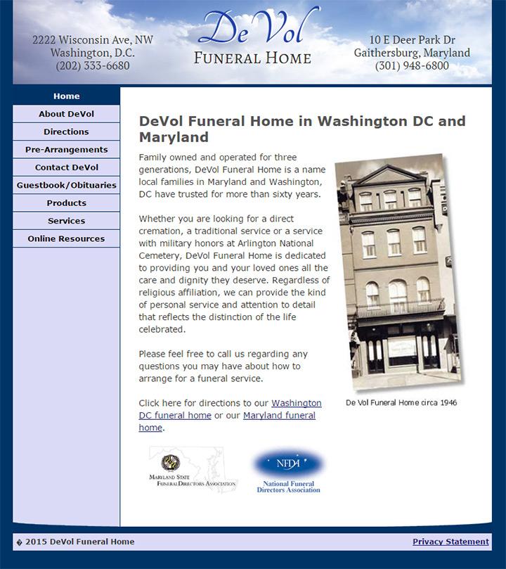 De Vol Funeral Home
