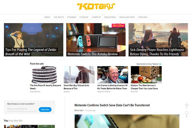 kotaku blog