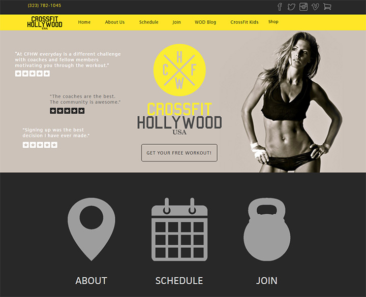 crossfit hollywood