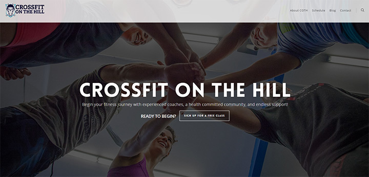 crossfit on the hill