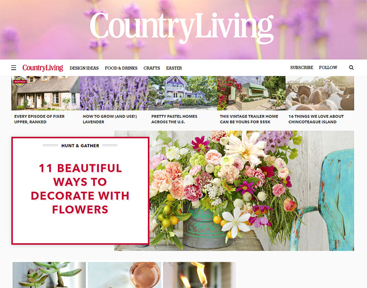 country iving blog