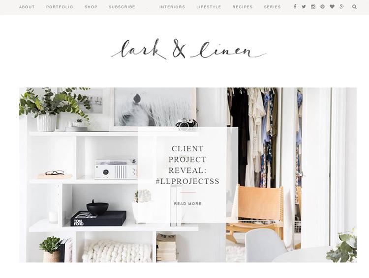 lark and linen