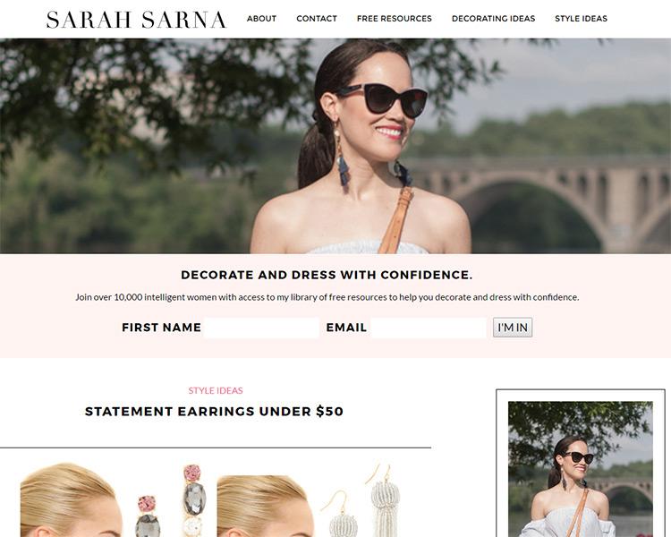 sarah sarna