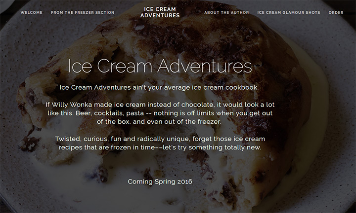 ice cream adventures