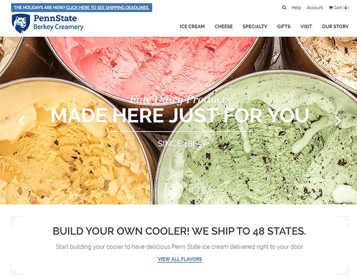 penn state ice cream