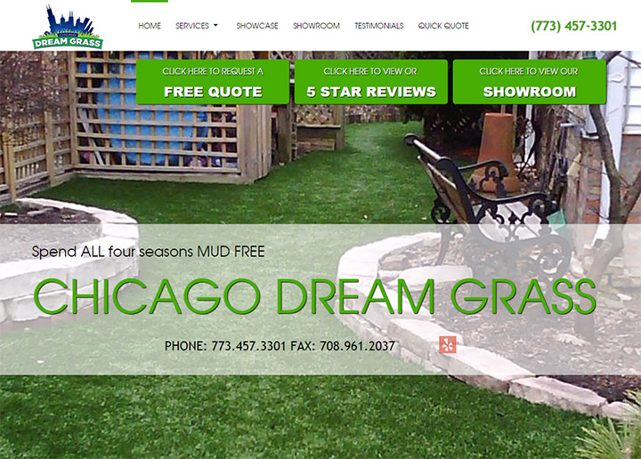 chicago dream grass