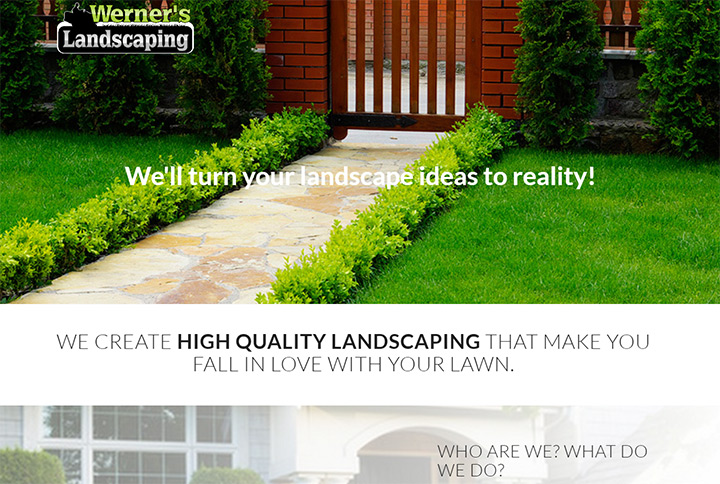 werners landscaping