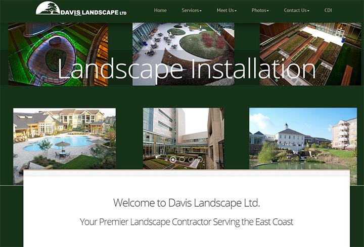 davis landscaping ltd