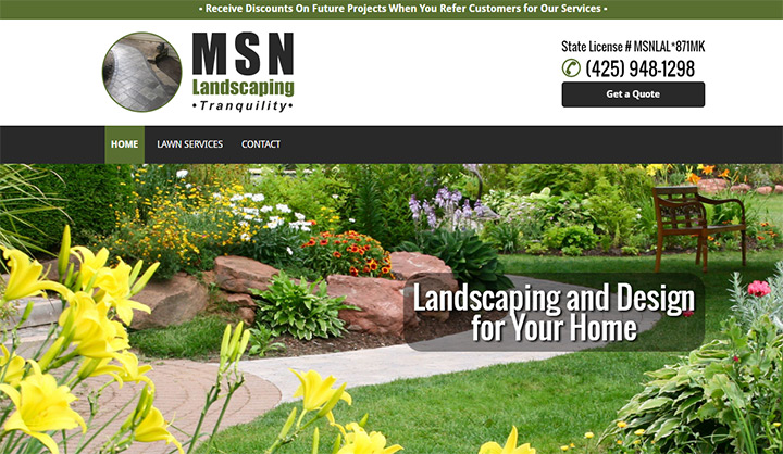 msn landscaping