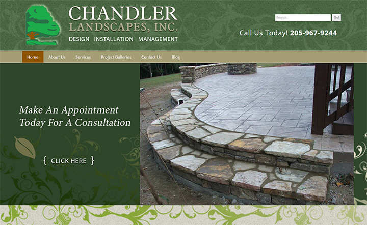 chandler landscapes