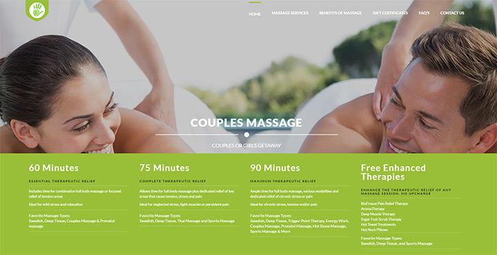 100+ Best Massage Therapy Website Designs