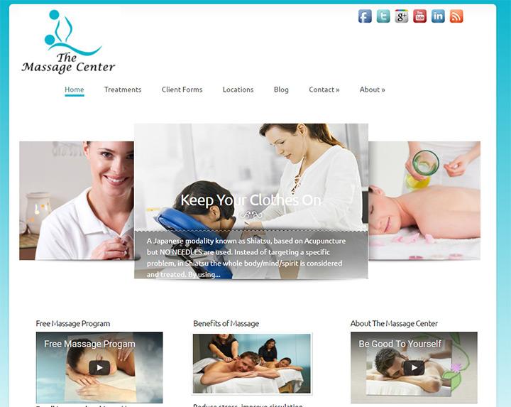 free massage center