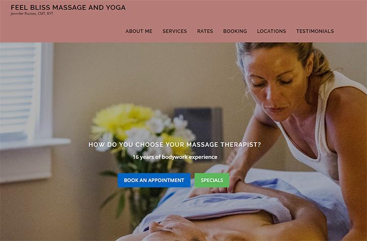 feel bliss massage