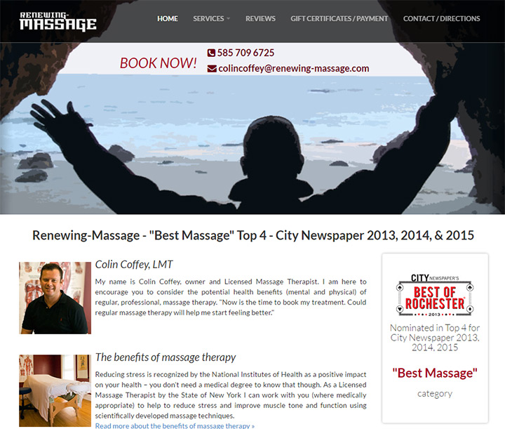 renewing massage