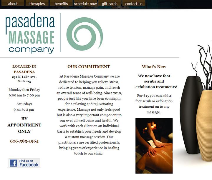 pasadena massage
