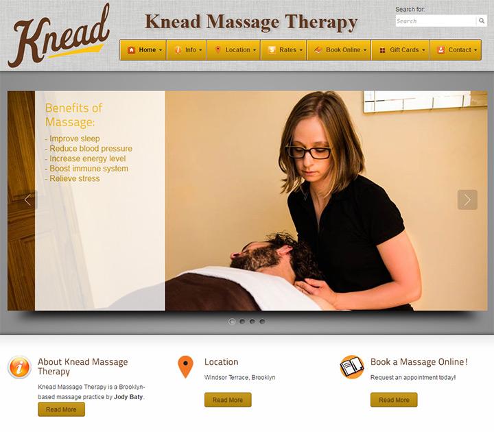 knead massage