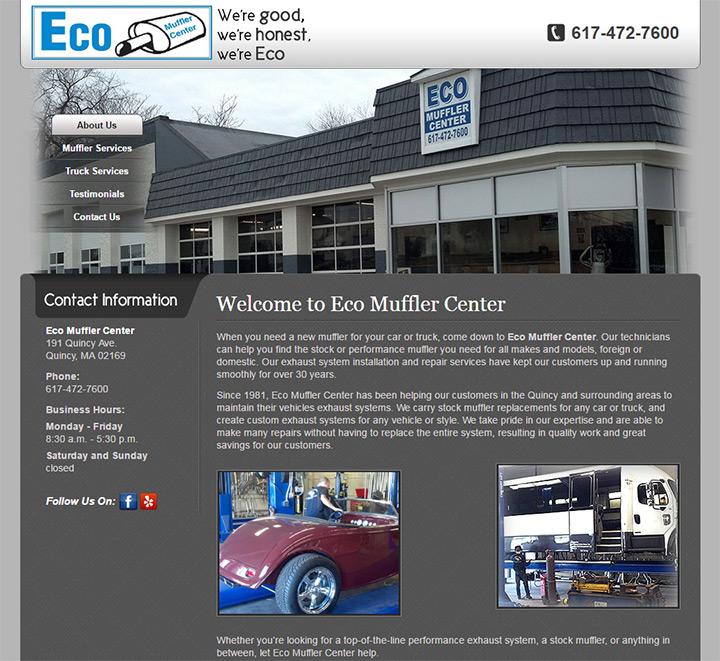 eco muffler center