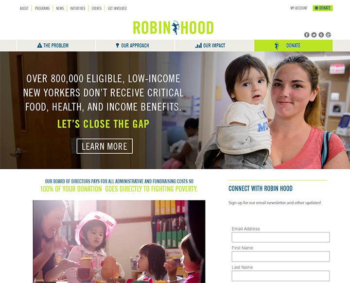 robin hood charity