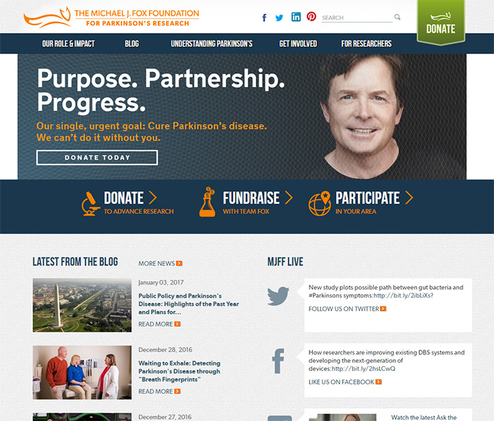 michael fox foundation