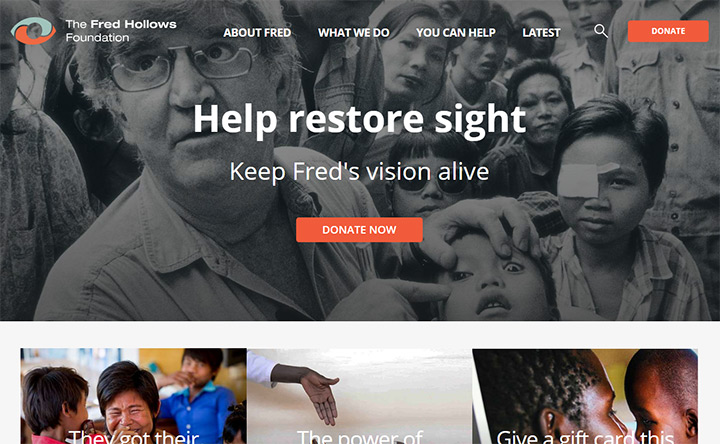 fred hollows nonprofit