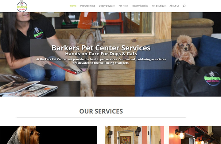 barkers pet center