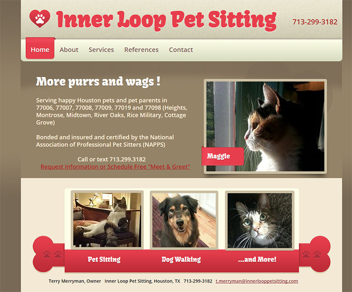 inner loop pet sitting